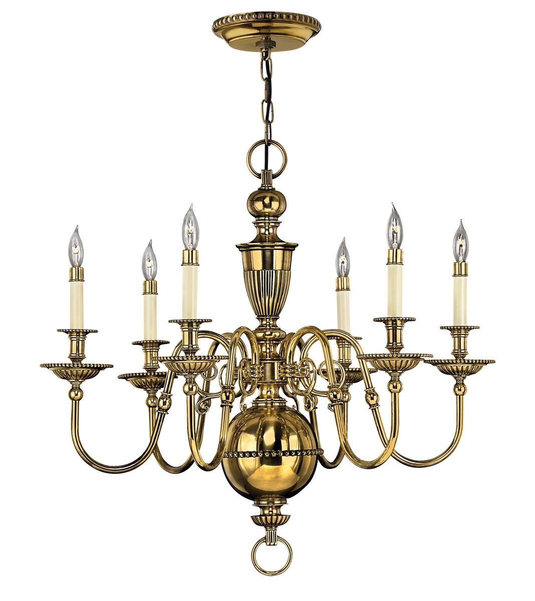 Colonial Williamsburg Chandeliers With Traditional Brass Chandeliers (Image 6 of 15)
