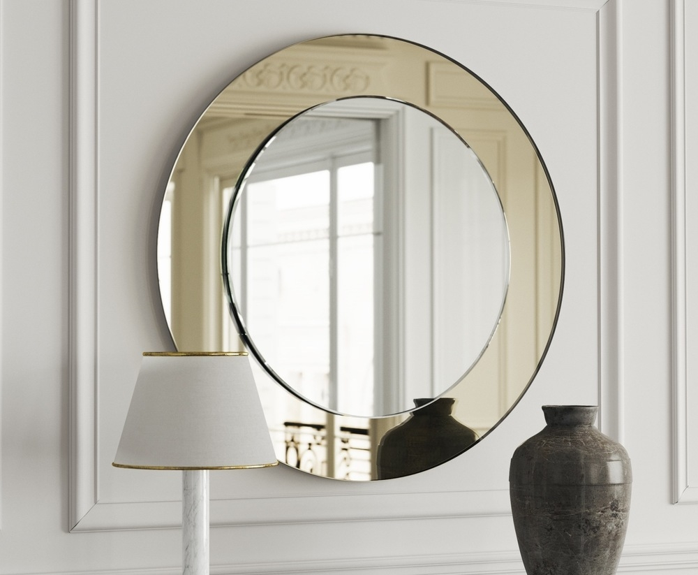 Featured Image of Round Art Deco Mirror