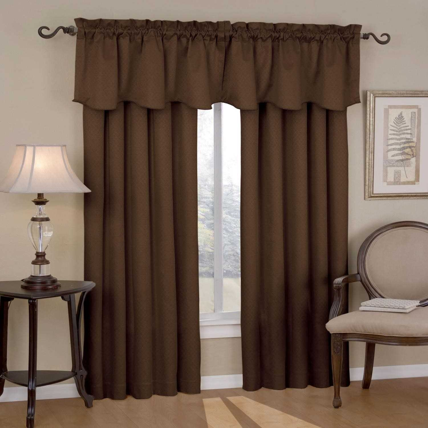 Colorful Curtains Brown Curtains For Bedroom Modern Room Tv Intended For Black And Brown Curtains (Image 5 of 15)