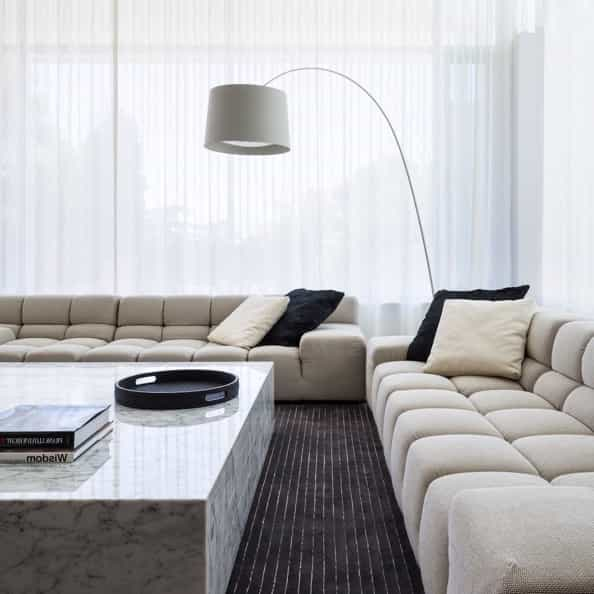 Featured Image of Comfortable Contemporary Living Room Luxury Minimalist Style