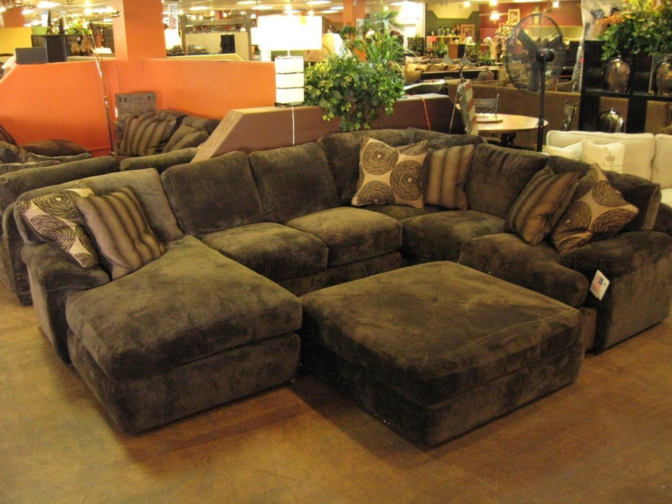 Comfy Sectional Sofas Land Design Reference Pertaining To Comfy Sectional Sofa (Image 7 of 15)