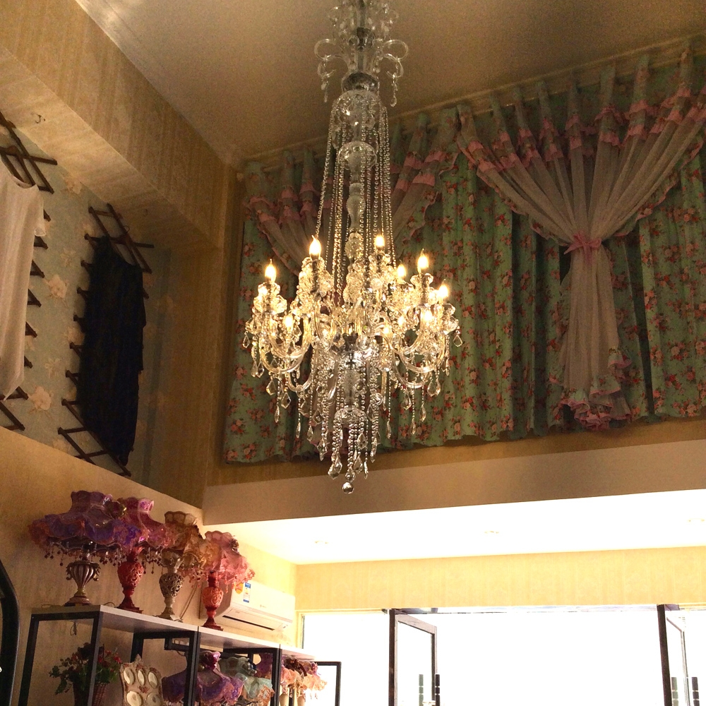 Compare Prices On Large Chandelier Online Shoppingbuy Low Price Pertaining To Long Hanging Chandeliers (Image 6 of 15)