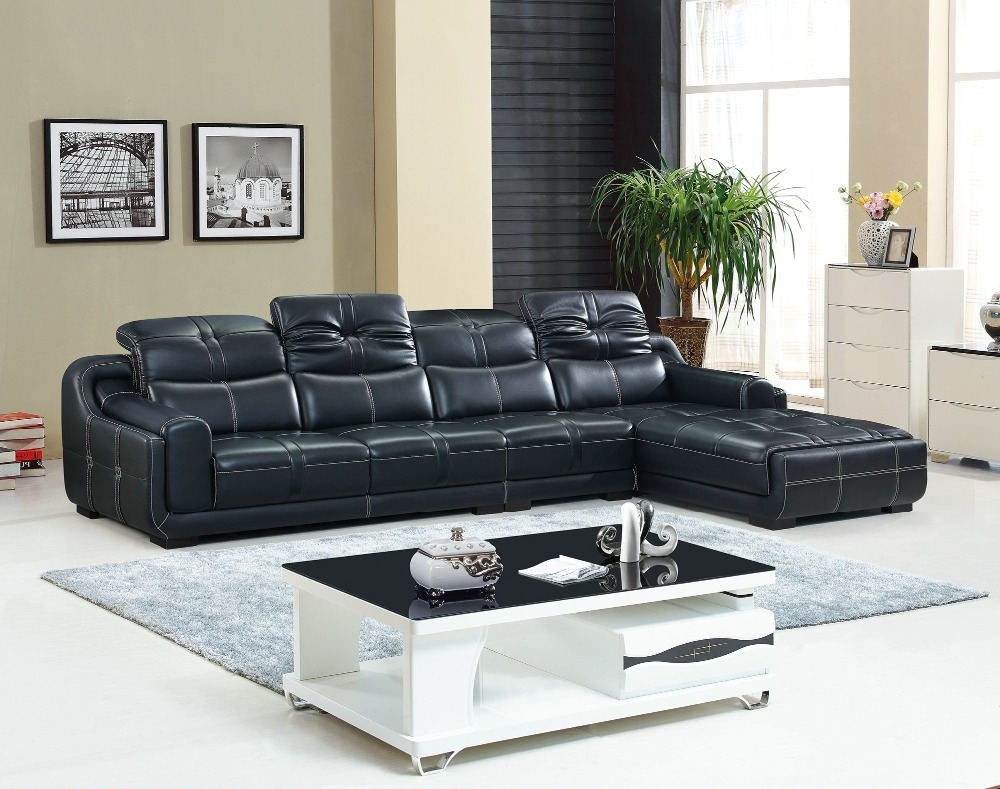 Compare Prices On Reclining Leather Sectional Online Shoppingbuy Inside European Style Sectional Sofas (Image 2 of 15)