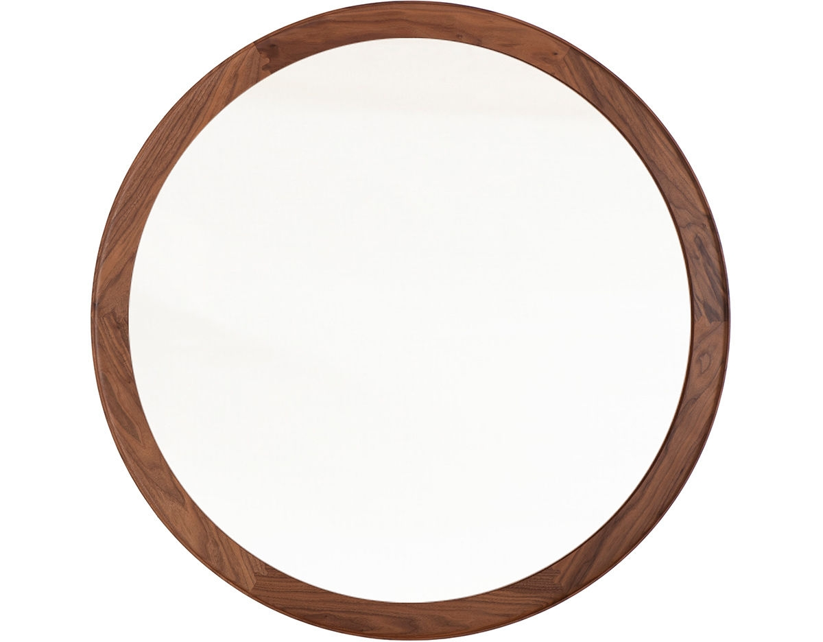 Coniston Large Round Mirror 392lr Hivemodern Intended For Large Round Mirrors (Image 6 of 15)