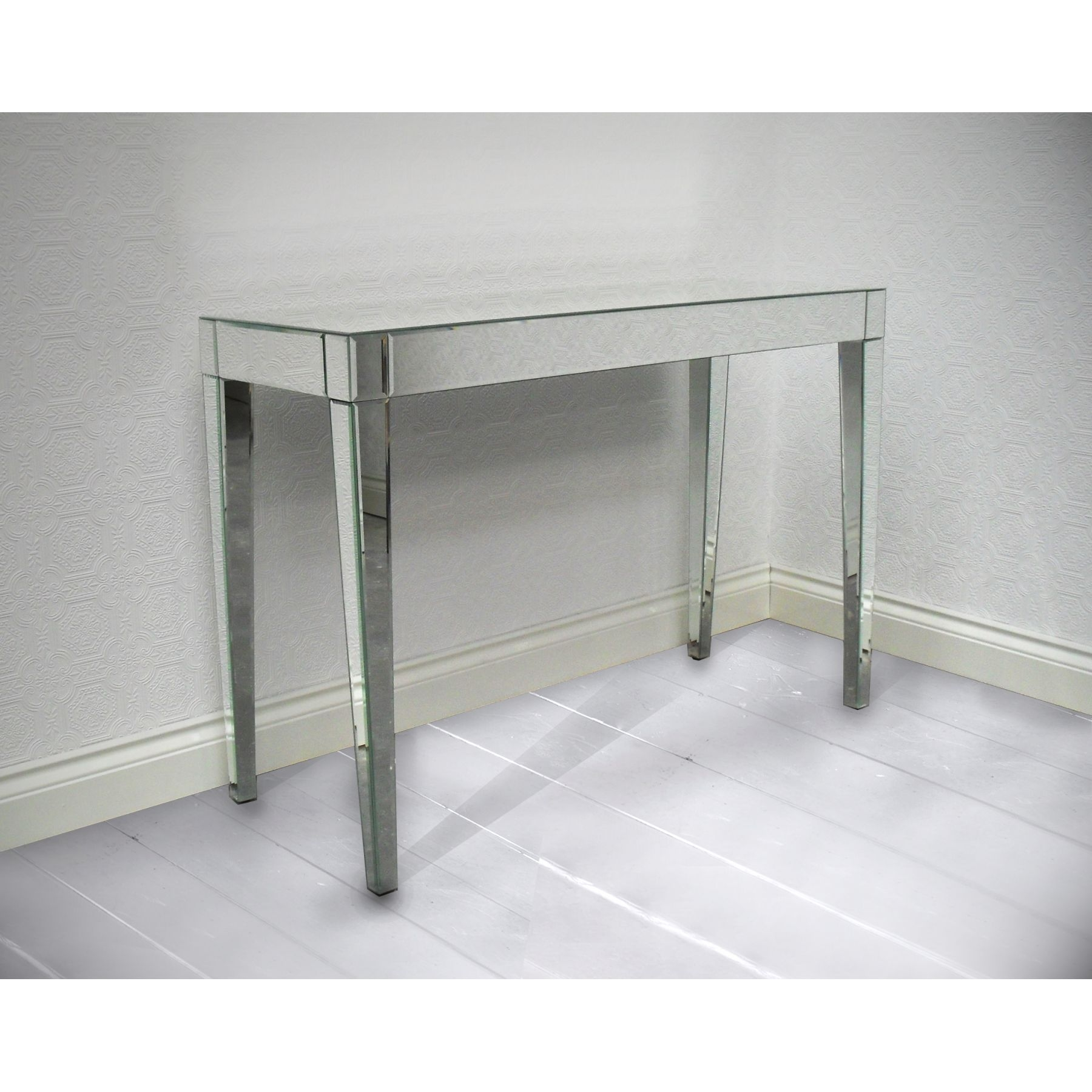 Console Tables Cheap Decorative Table Decoration Intended For Mirrored Occasional Tables (Image 3 of 15)
