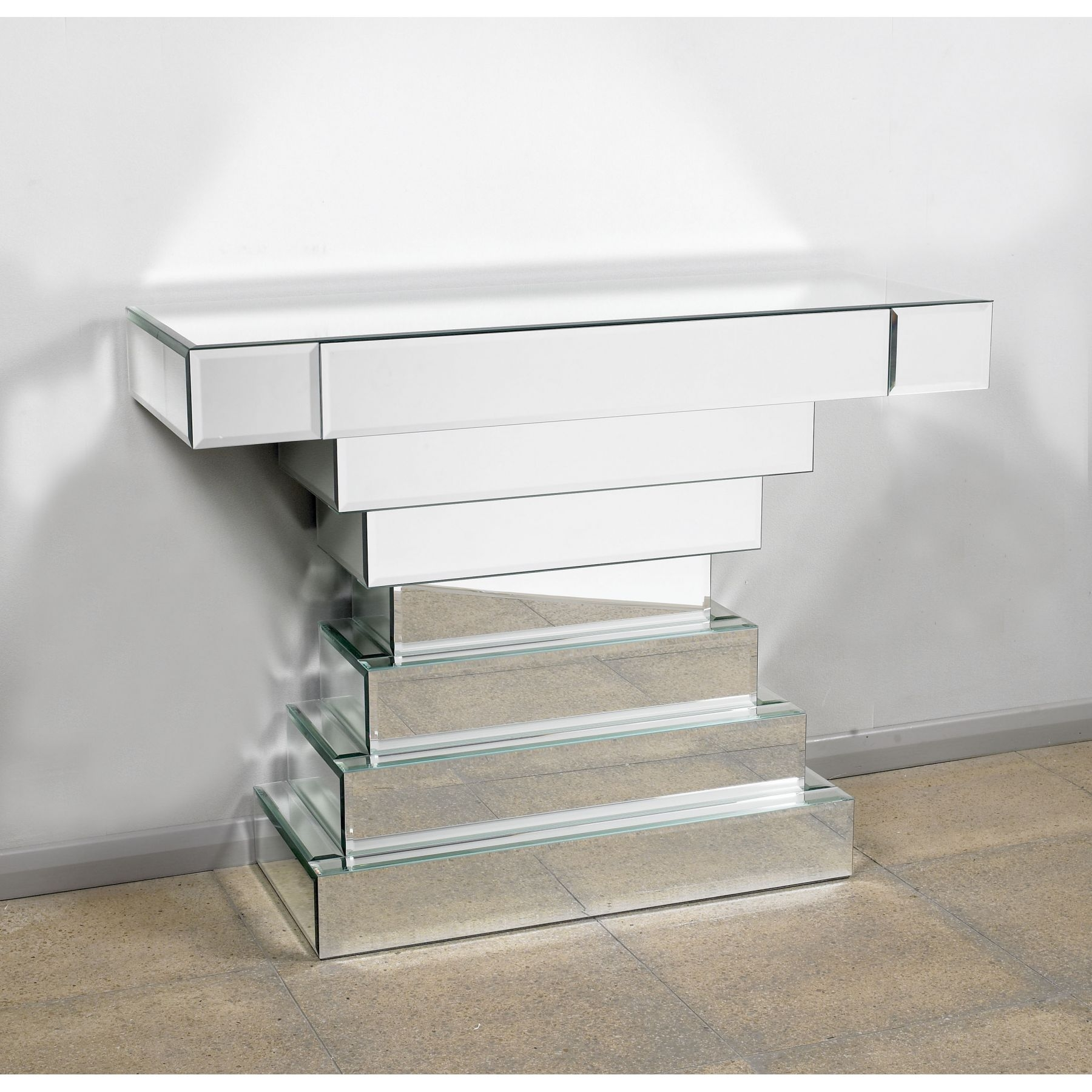 Console Tables Cheap Decorative Table Decoration With Mirrored Occasional Tables (Image 4 of 15)