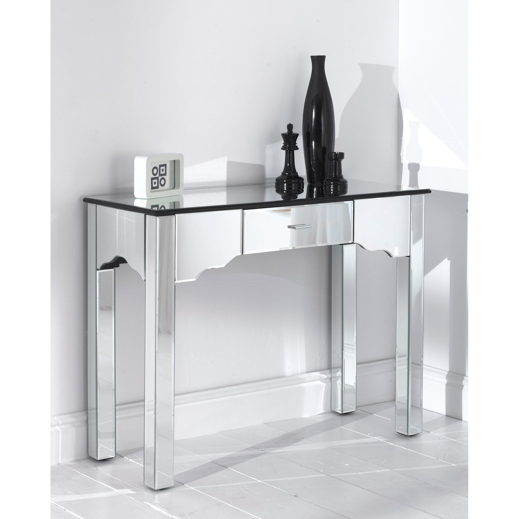 Console Tables Cheap Uk Decorative Table Decoration Throughout Mirrored Occasional Tables (Image 6 of 15)