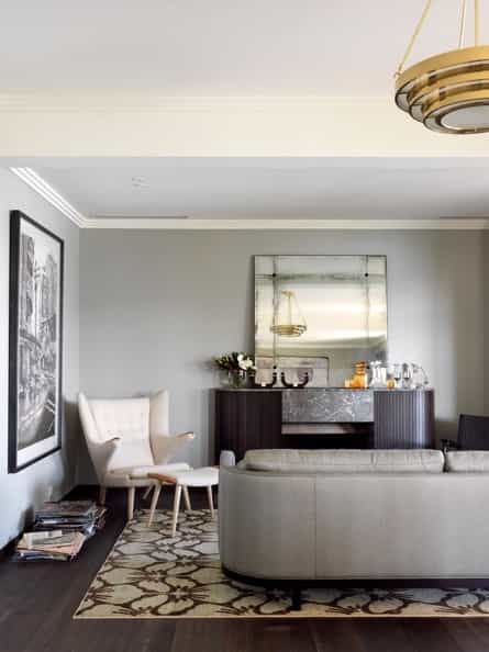 Featured Image of Contemporary Art Deco Living Room Interior