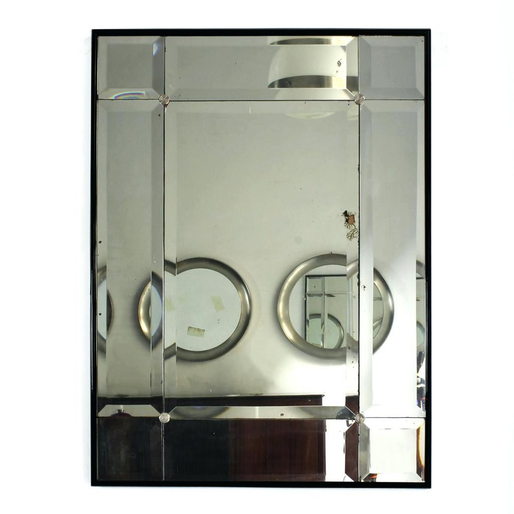 Contemporary Art Deco Round Mirror Bathroom Mirrors For Sale With Art Deco Mirrors For Sale (Image 9 of 15)