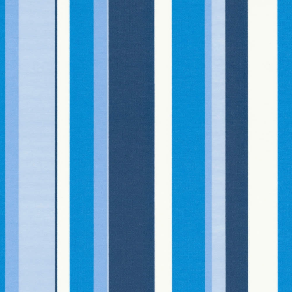 Contemporary Blue White Vertical Striped Roller Blinds With Regard To Blue And White Striped Roman Blinds (Image 5 of 15)