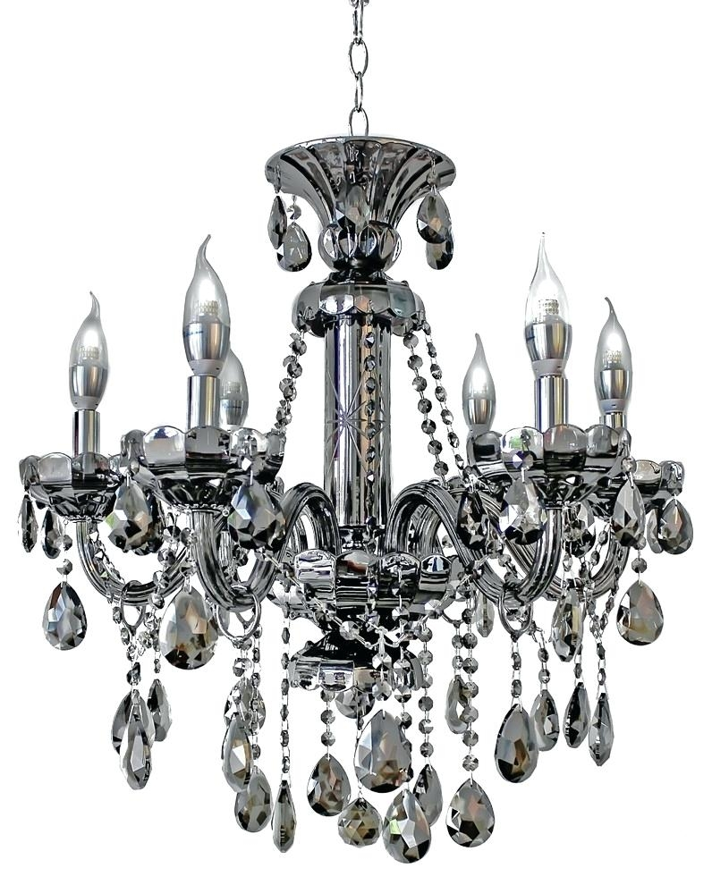 Contemporary Bronze Chandelier Black Crystal Chandelier Metal For Contemporary Black Chandelier (Image 9 of 15)