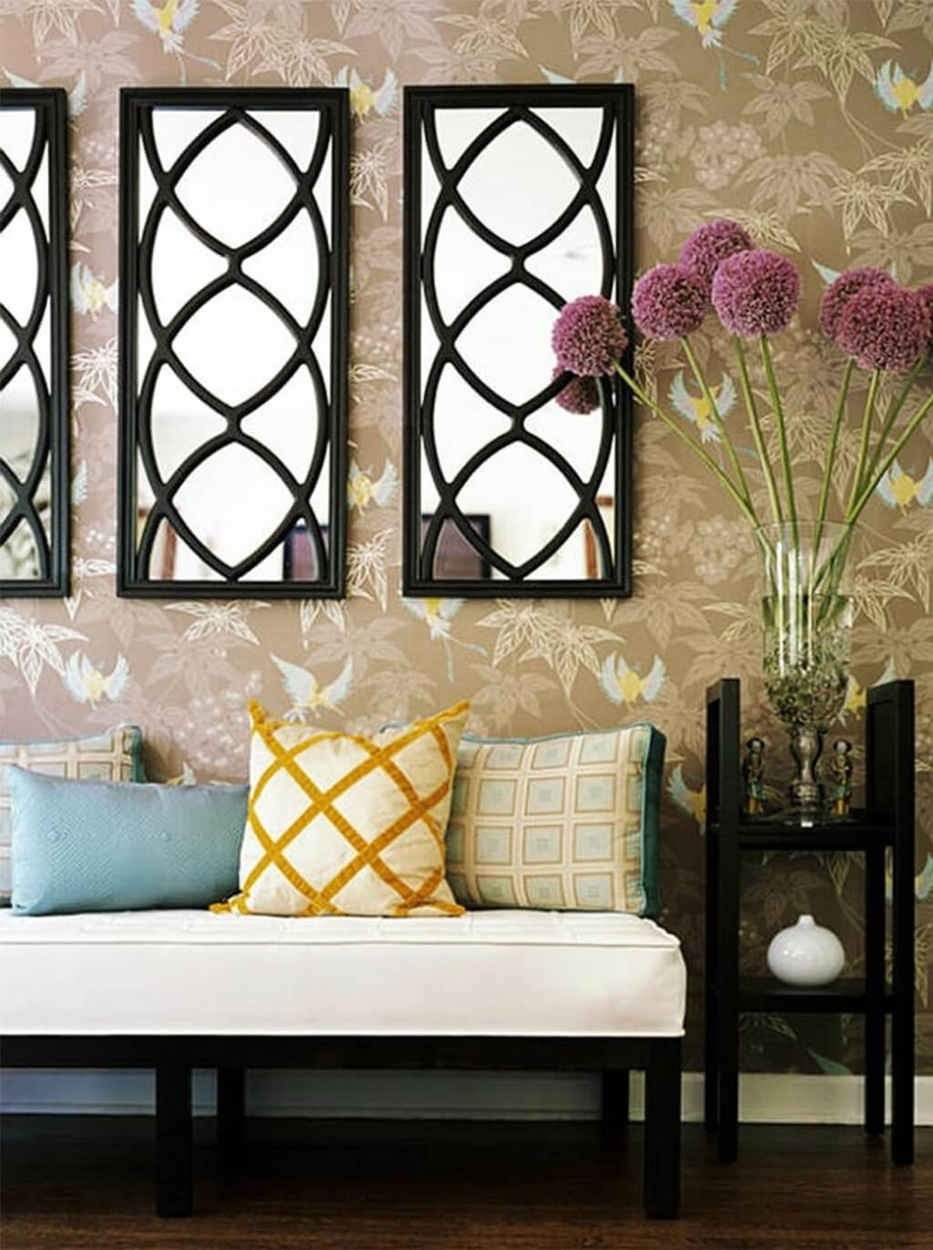 Contemporary Design Wall Mirrors Decorative Luxury 23 Fancy Inside Fancy Wall Mirrors (Image 2 of 15)