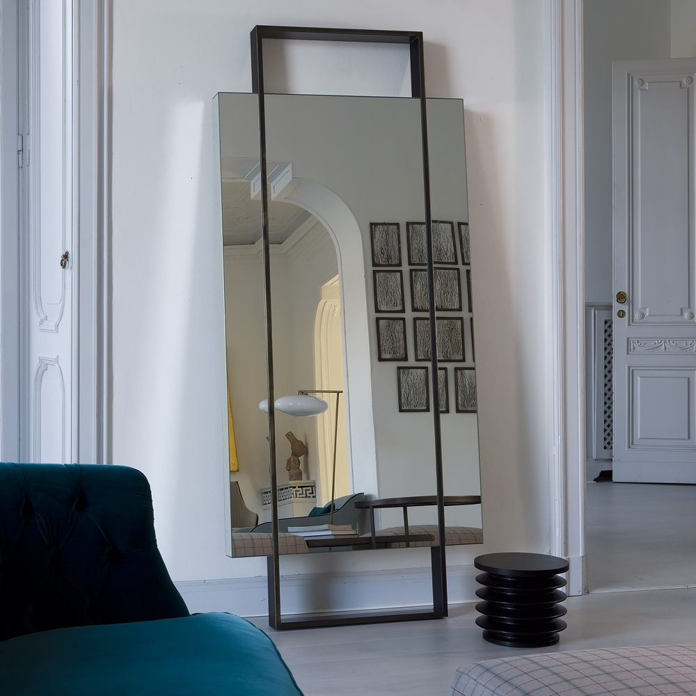 Contemporary Floor Mirror Of And Mirrors For Bedroom Pictures Pertaining To Contemporary Floor Standing Mirrors (Image 5 of 15)