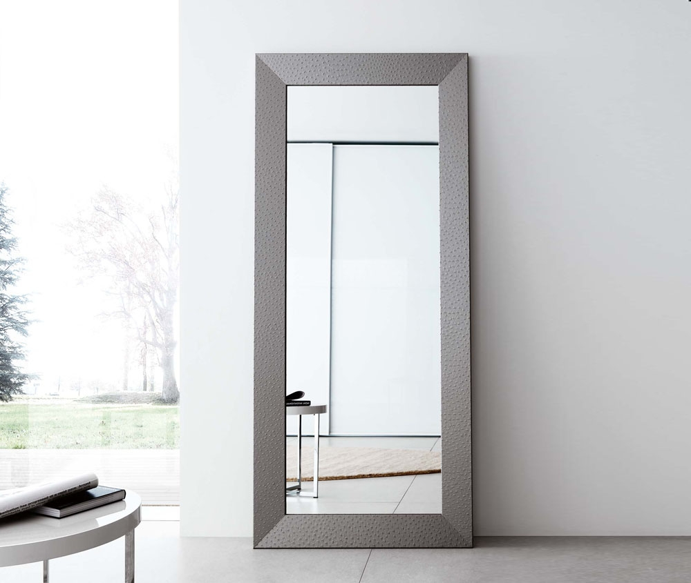 Contemporary Full Length Mirror Studio Inspiration Pinterest In Contemporary Large Mirrors (Image 6 of 15)