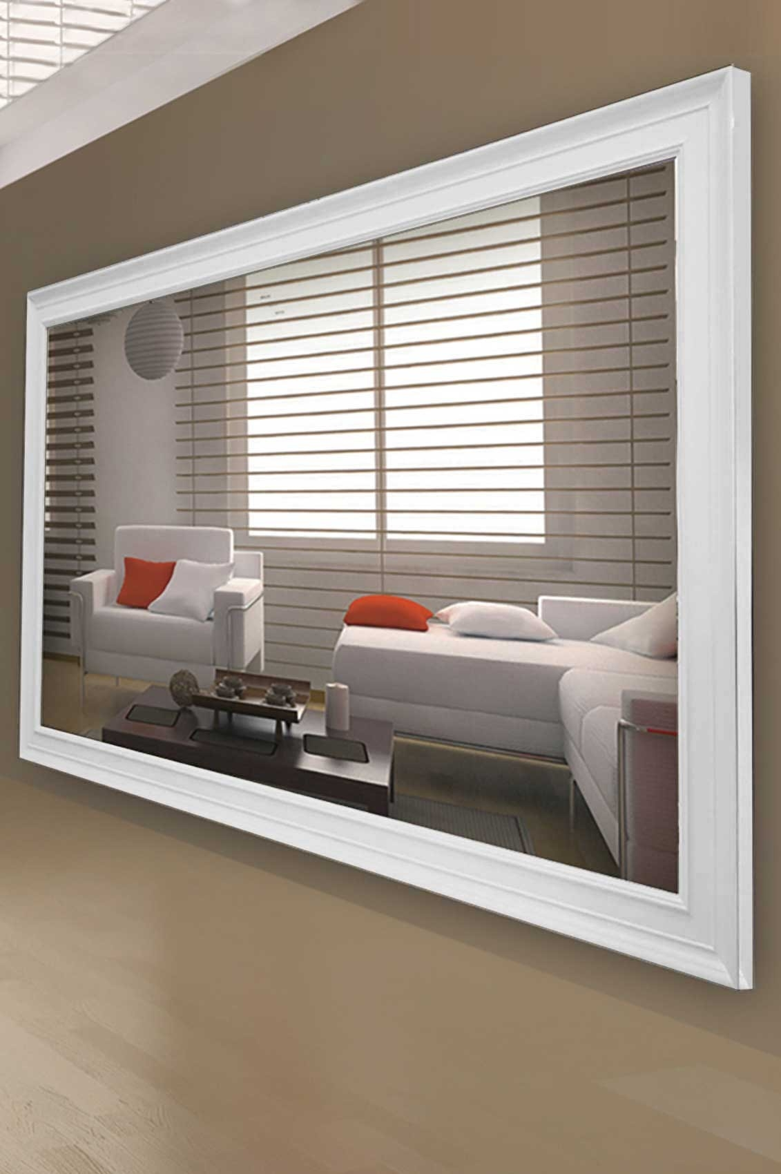 Contemporary Ideas Extra Large Wall Mirror Exclusive Inspiration Throughout Wall Mirrors Contemporary (Image 3 of 15)