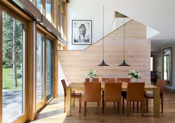 Featured Image of Contemporary Rustic Dining Room For Modern Interior