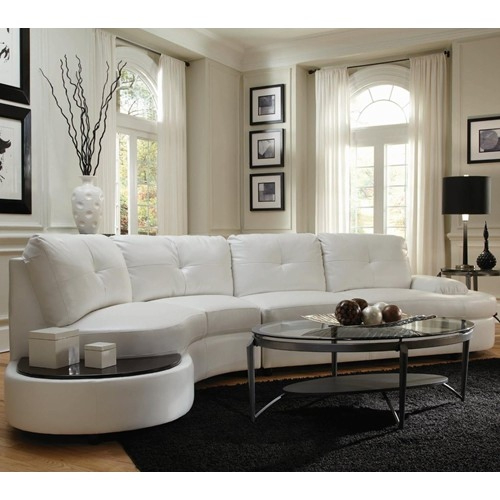 Contemporary Sectional Conversation Sofa With Built In Table Throughout Conversation Sofa Sectional (View 11 of 15)