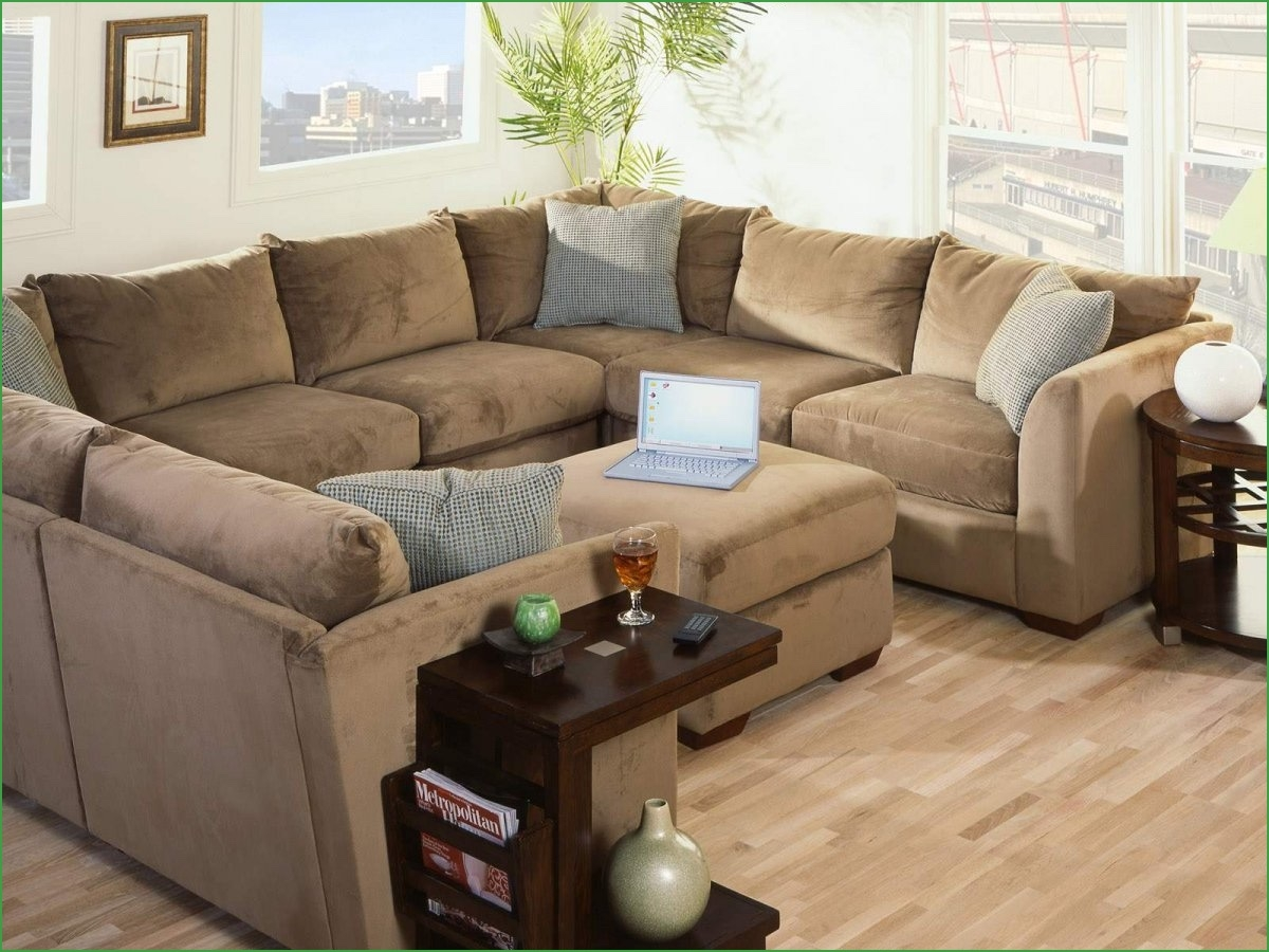 Contemporary Sofa Bed Sectional Modern U Shaped Sectional Modern U With Regard To C Shaped Sectional Sofa (Image 7 of 15)