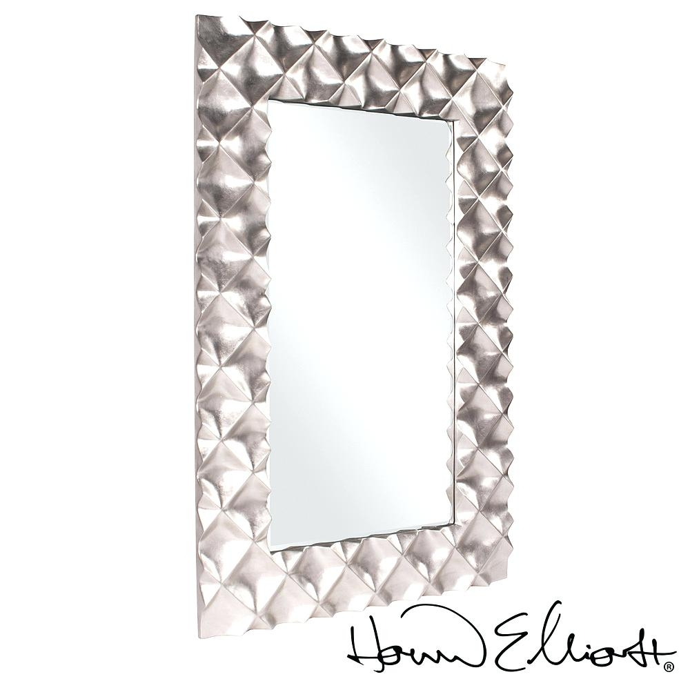 Contemporary Wall Mirror Decorative Metropolitandecor Unique Decor Regarding Contemporary Wall Mirror (Image 4 of 15)