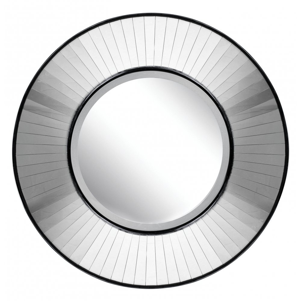 Contemporary Wall Mirror Pertaining To Large Circular Mirrors (Image 4 of 15)