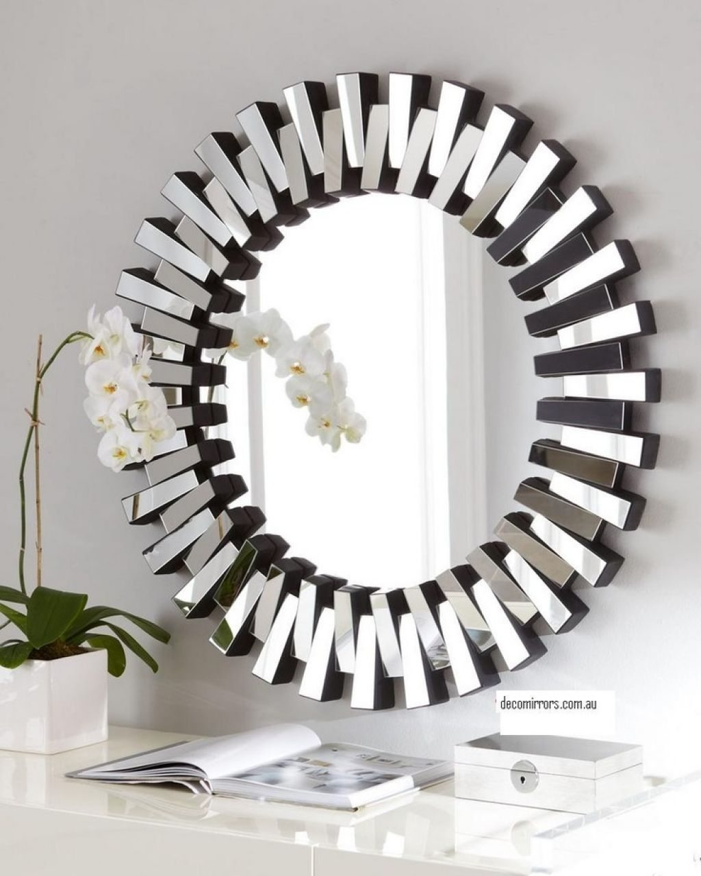 Contemporary Wall Mirrors Using Distinctive Wall Mirrors For With Regard To Contemporary Wall Mirrors (Image 8 of 15)