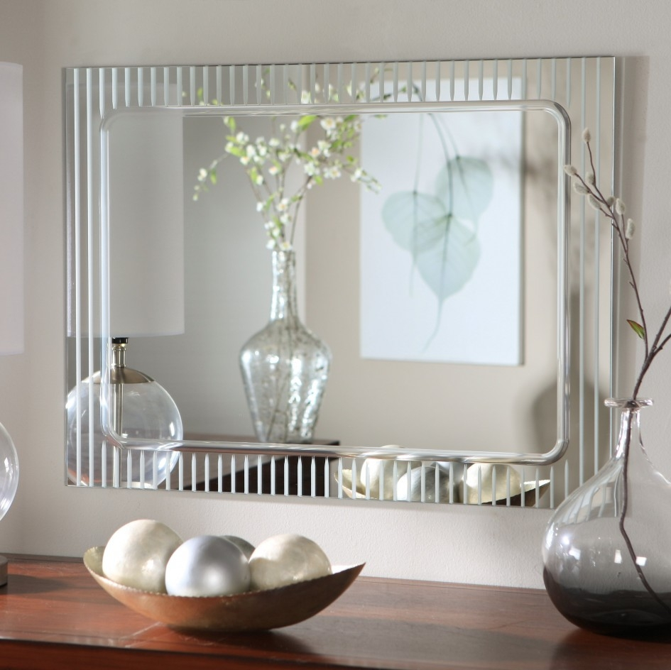 Contemporary Wall Mirrors With Designer Mirrors For Walls (Image 4 of 15)