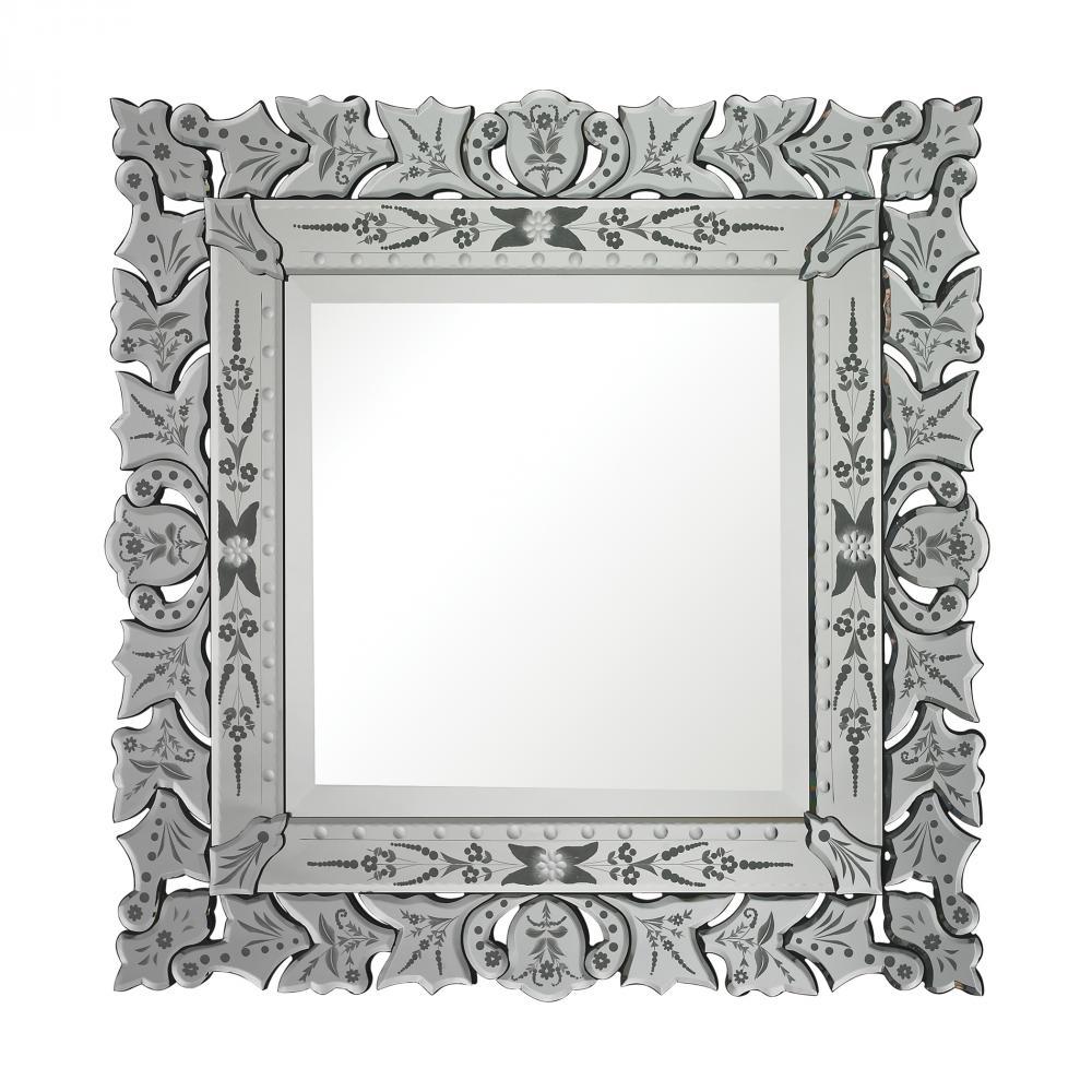 Conway Venetian Mirror 114 33 Cartwright Lighting Regarding Square Venetian Mirror (View 7 of 15)