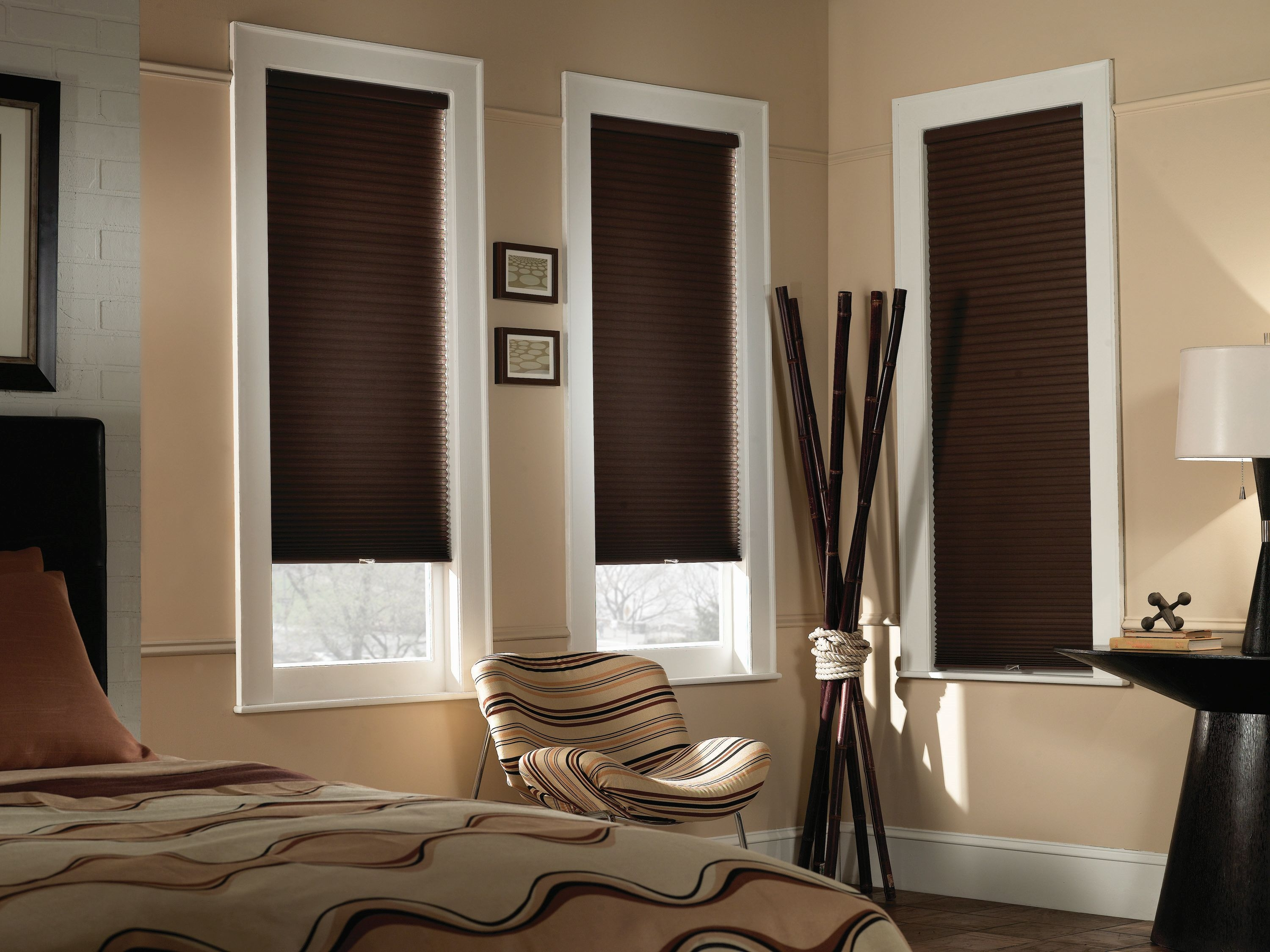 Cordless Cellular Shade Blinds Economy 12 With Regard To Blackout Curtains And Blinds (Image 8 of 15)