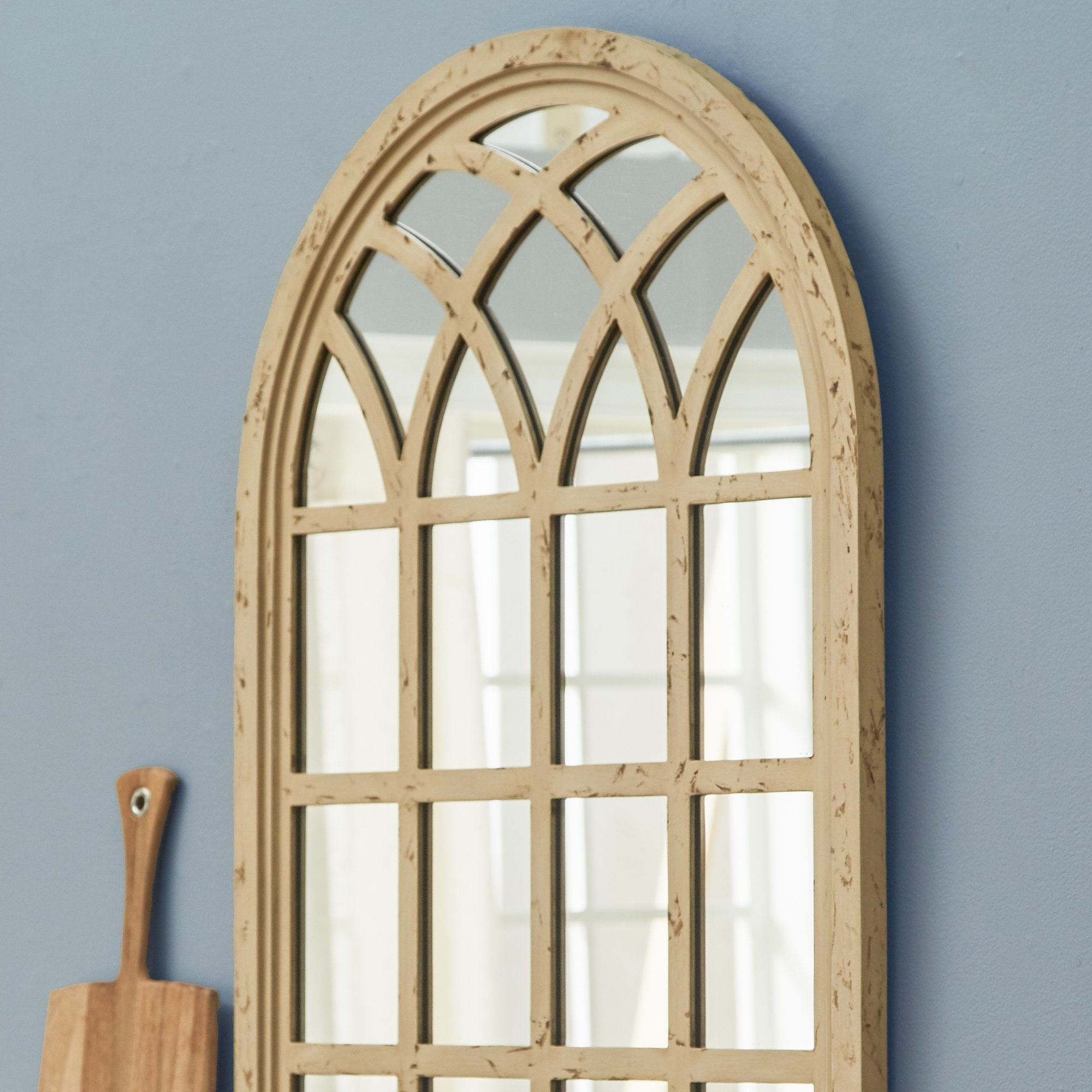 Corey Arched Oversized Wall Mirror Reviews Joss Main For Arched Wall Mirrors (View 7 of 15)