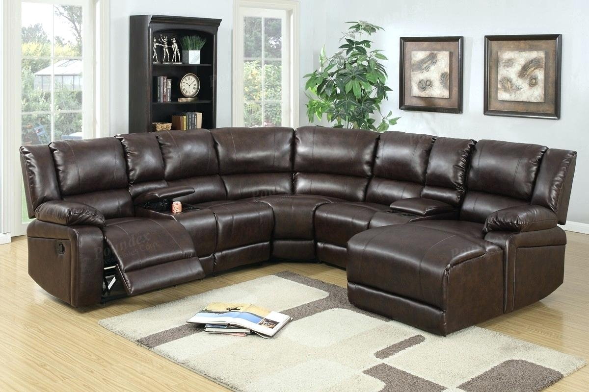 Covering Leather Sofa Modern Sets With Elegant Set Living Room For Abbyson Living Charlotte Dark Brown Sectional Sofa And Ottoman (Image 6 of 15)