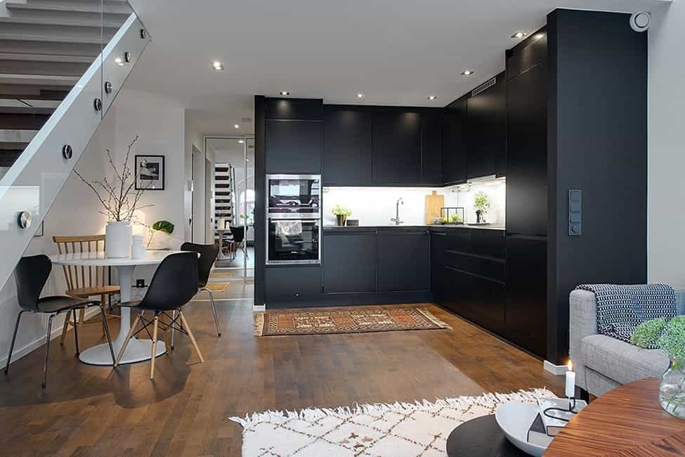 Featured Image of Cozy Apartment Dining Area And Kitchen Combination