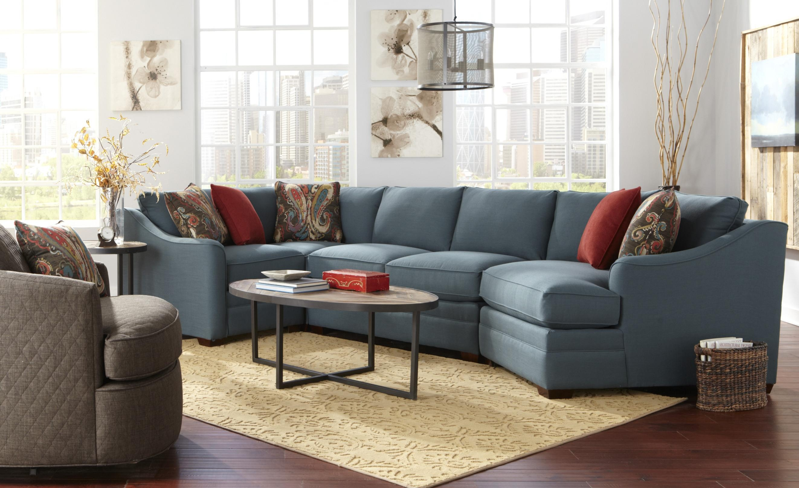 Craftmaster F9 Design Options Four Piece Bcustomizableb Pertaining To Craftmaster Sectional Sofa (Image 8 of 15)