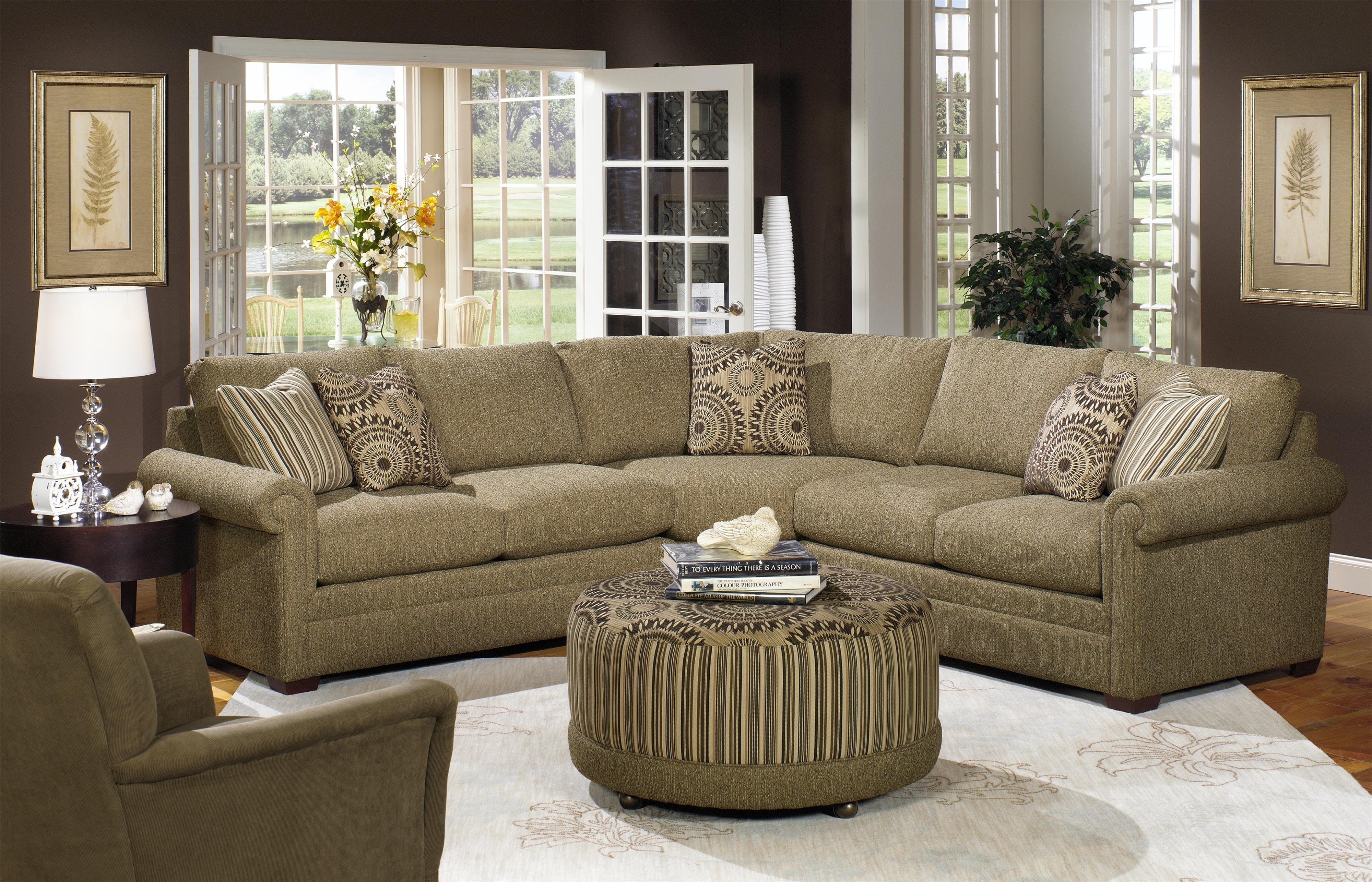 15 s Craftmaster Sectional Sofa