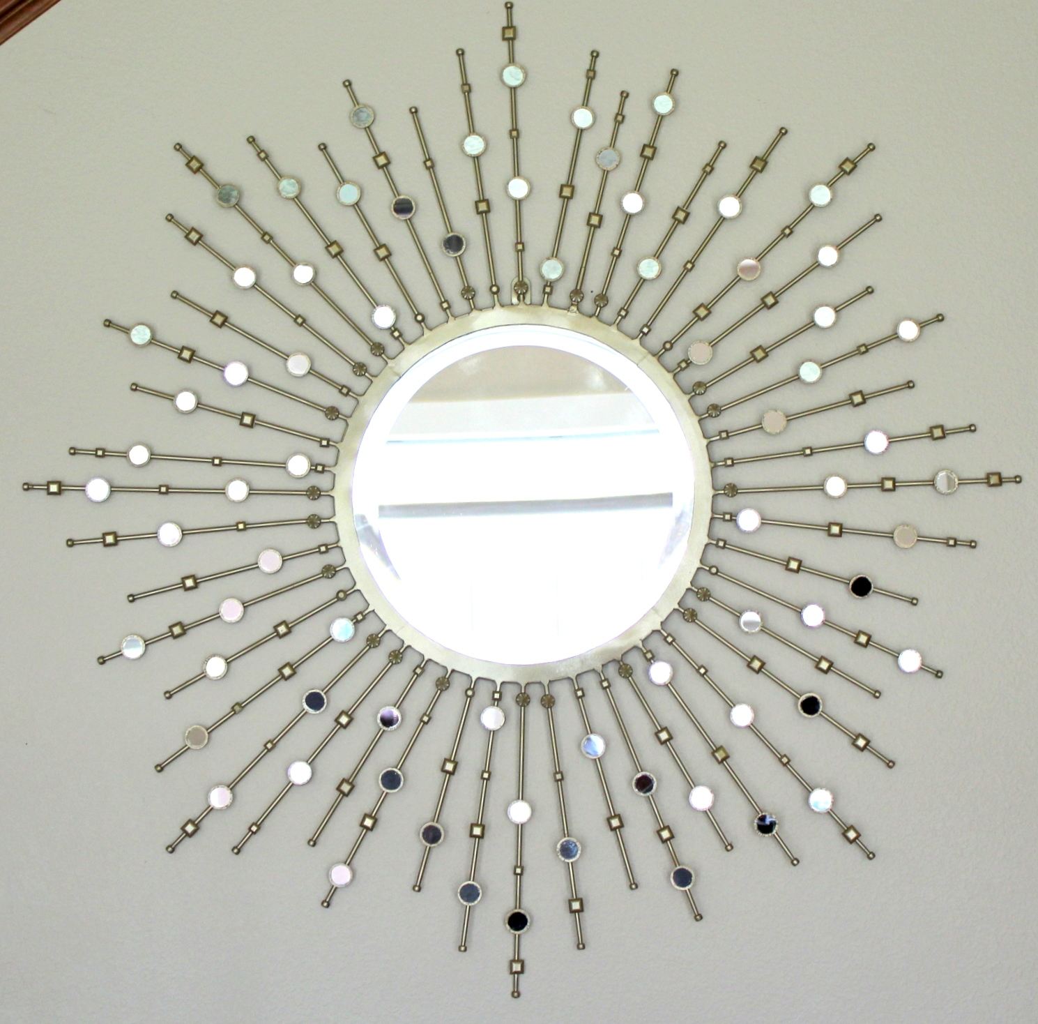 Crafty Sisters Sunburst Mirror Embellished Dream Home Mirror Within Embellished Mirrors (Image 5 of 15)