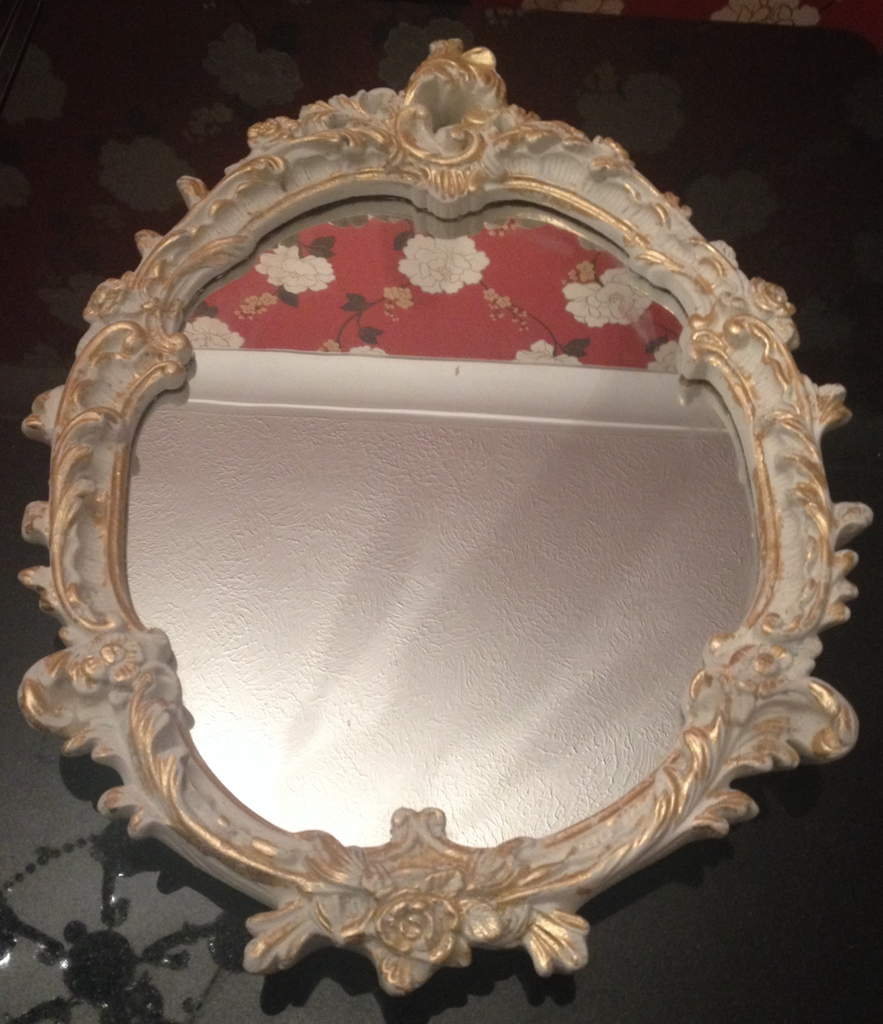 Cream Gold Shab Chic Mirror Mirror Mirror On The Wall With Gold Shabby Chic Mirror (Image 5 of 15)