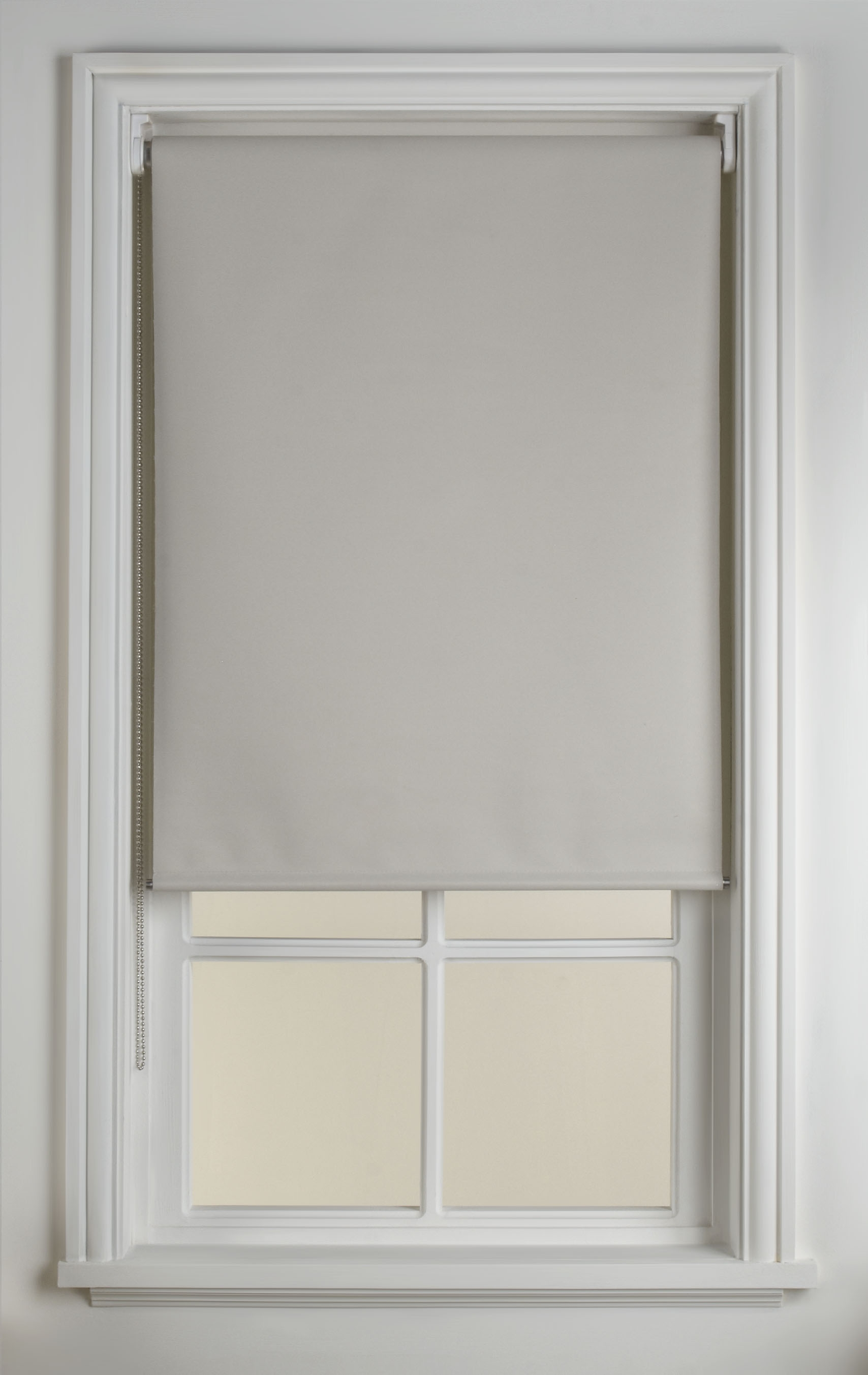 Cream Roman Blinds Yujiao Mao Semi Sheer Roman Blinds Ready Made Pertaining To Reverse Roller Blinds (Image 7 of 15)