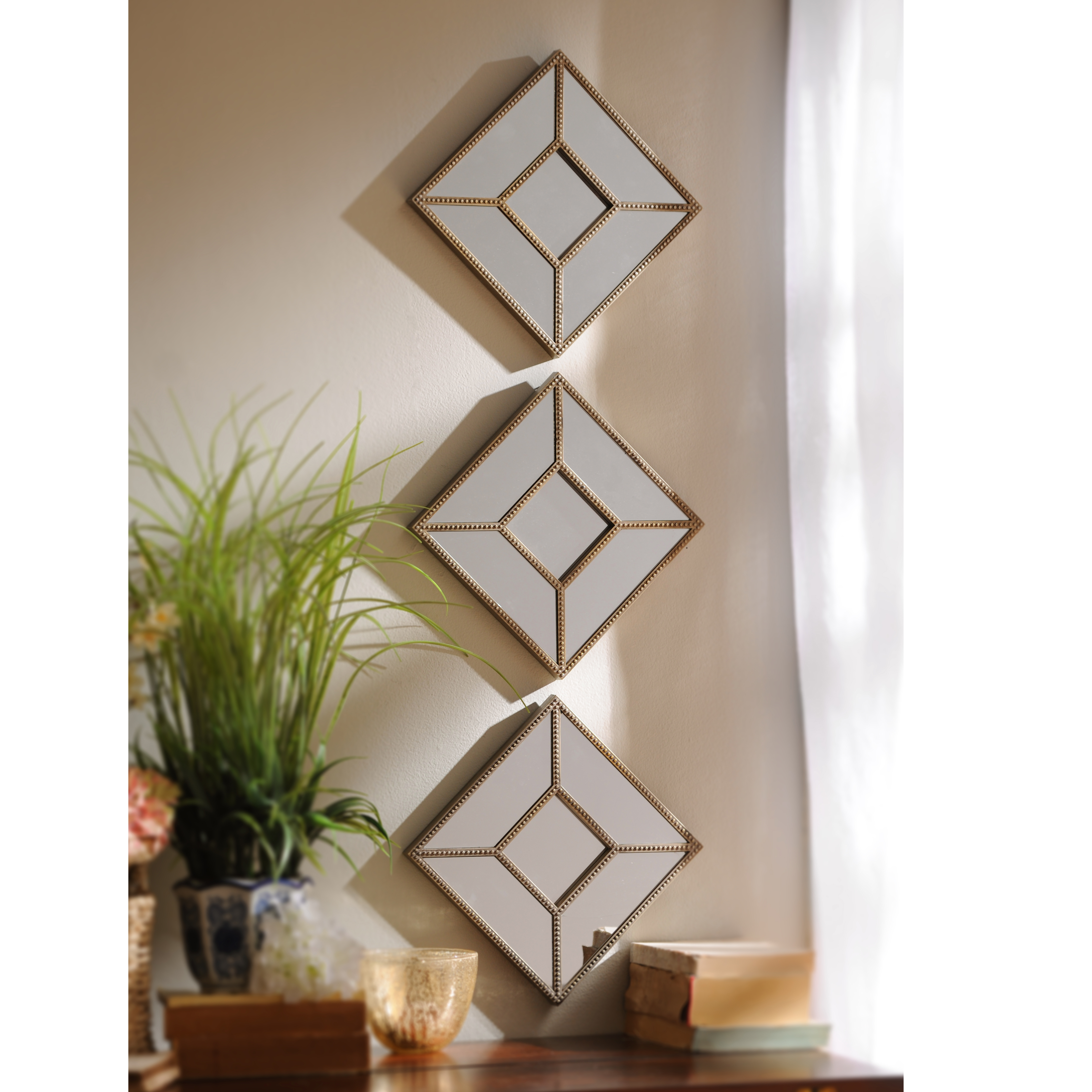 Create Eye Catching Space Using Decorative Mirrors My Kirklands Blog Pertaining To Ornamental Mirrors (Image 3 of 15)
