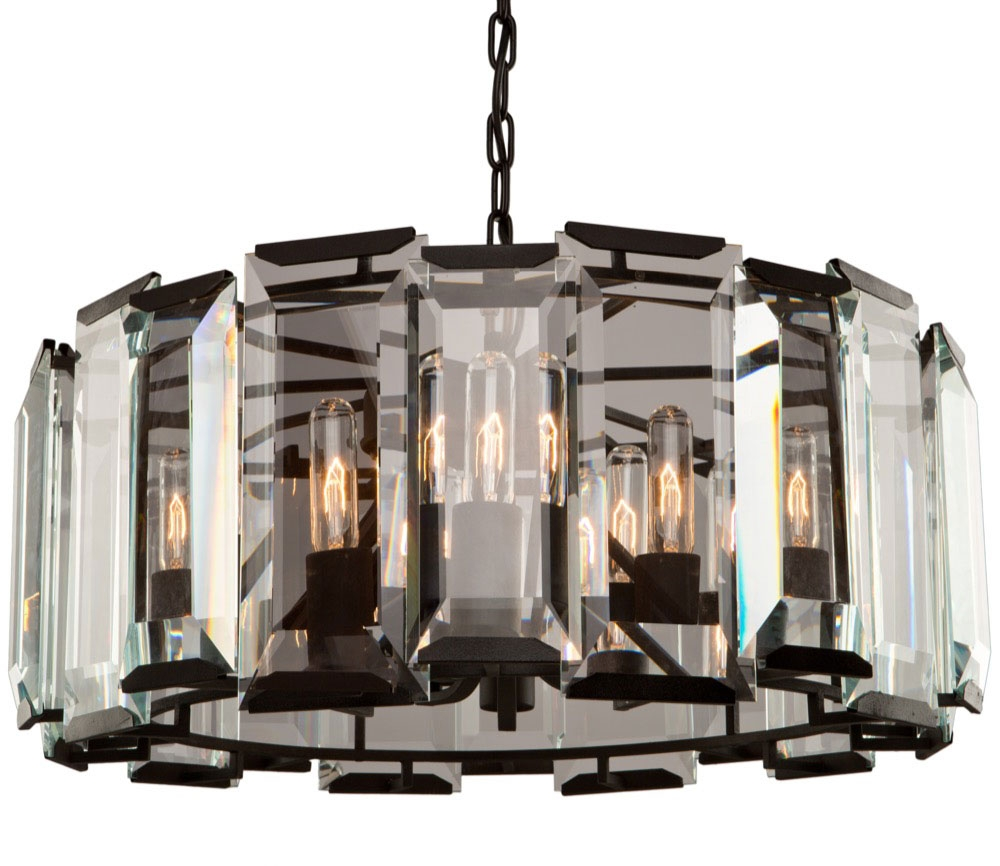 Creative Of Black Contemporary Chandelier Black Contemporary Throughout Black Contemporary Chandelier (View 13 of 15)