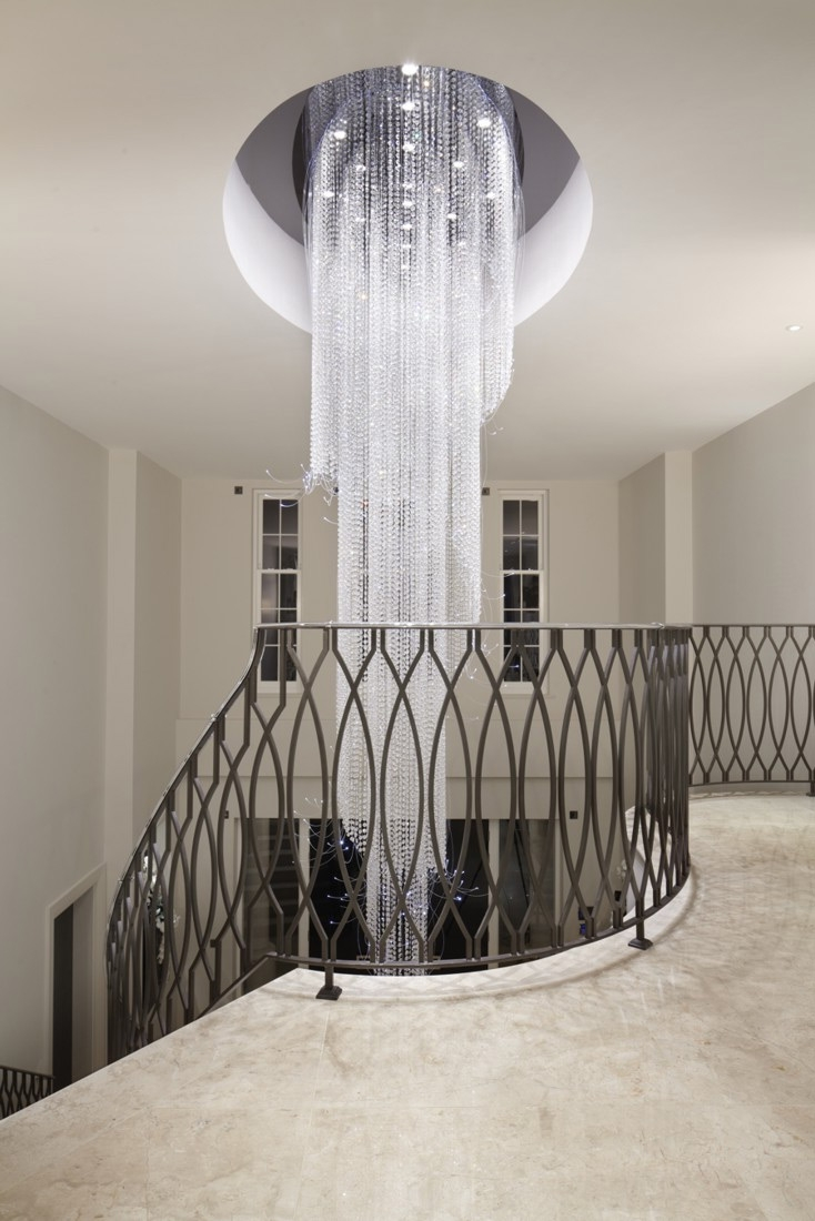 Creative Of Hanging Crystal Chandelier Modern Crystalndelier With Inside Long Modern Chandelier (View 9 of 15)