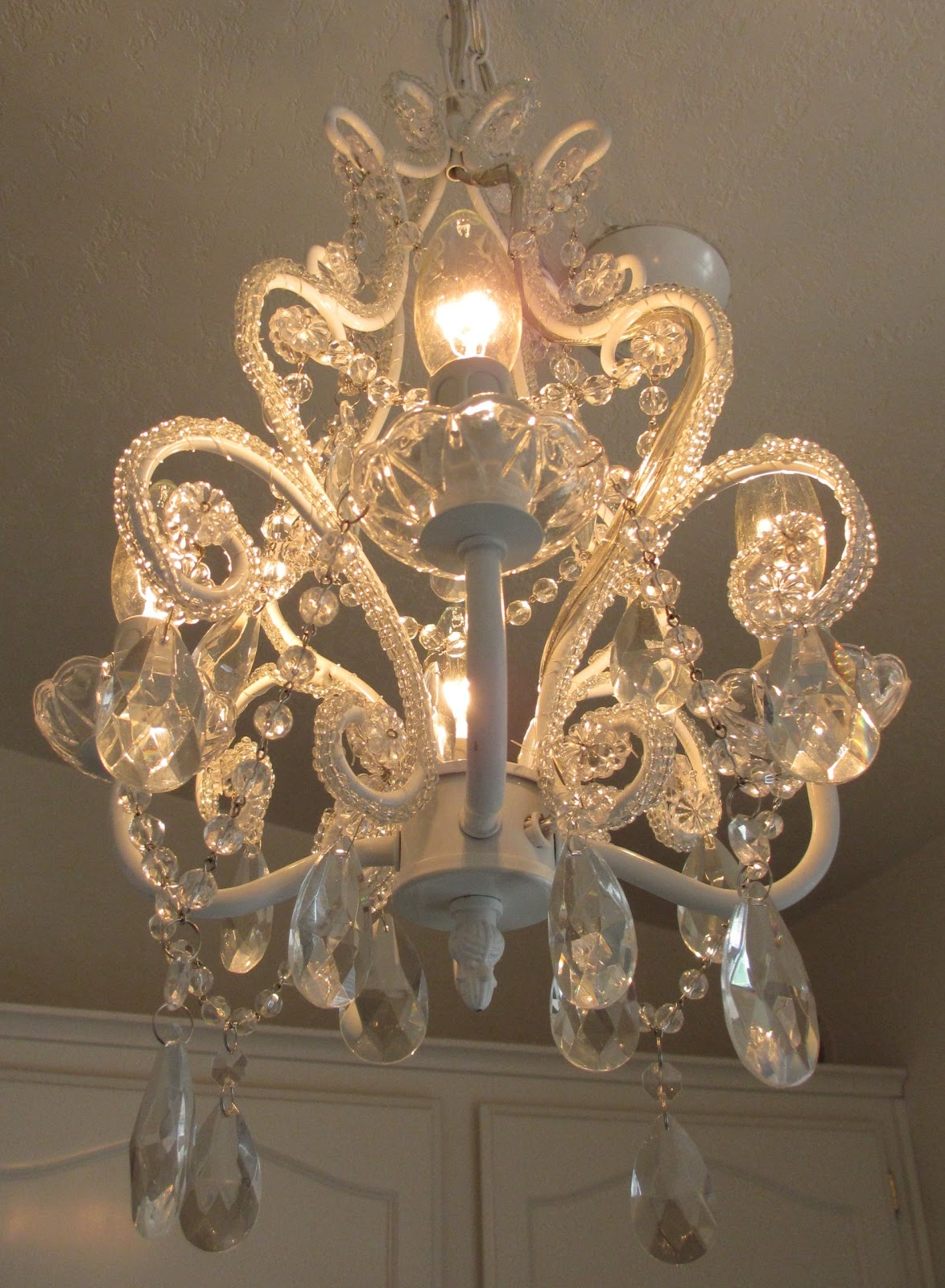 Cruisin Over Sixty My Shab Chic Chandelier Within Shabby Chic Chandeliers (View 13 of 15)