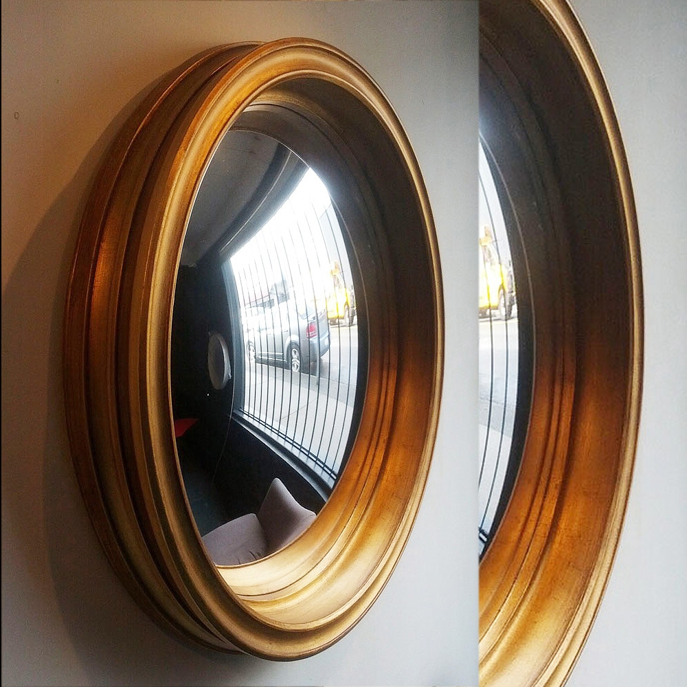 Cruyf Decorative Convex Mirror Throughout Decorative Convex Mirrors (Image 8 of 15)