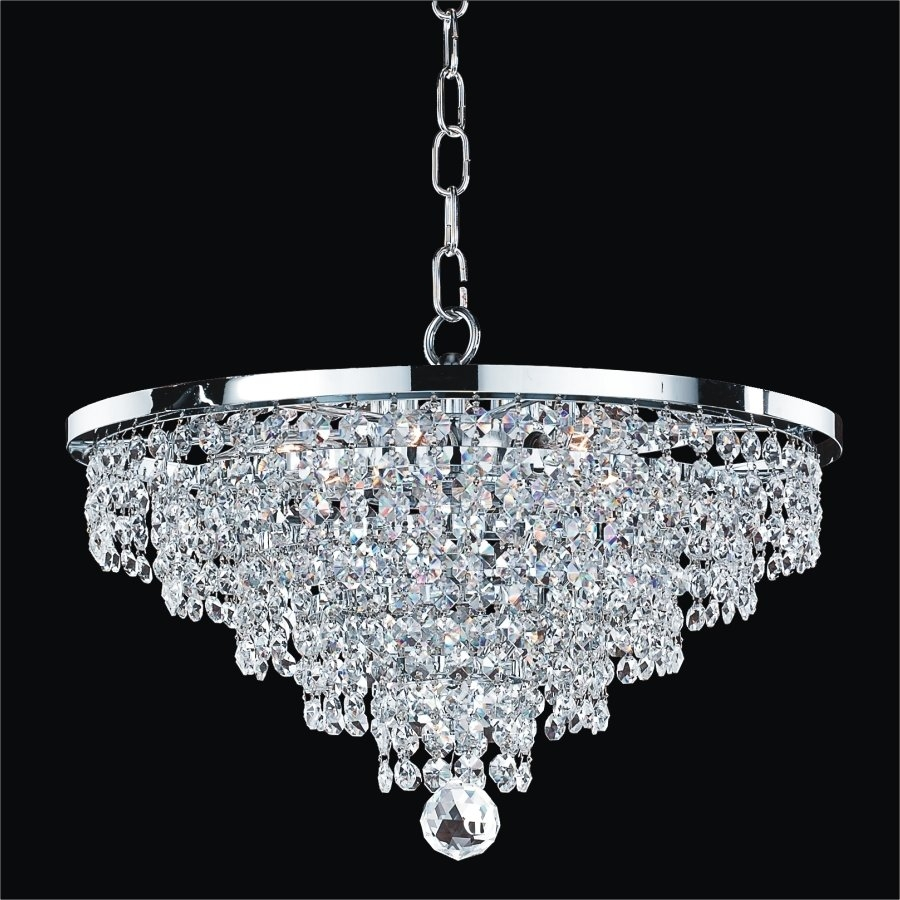 Crystal Chandeliers Youll Love Wayfair In Bathroom Chandeliers Sale (Image 9 of 15)
