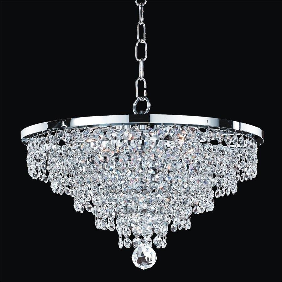 Crystal Chandeliers Youll Love Wayfair Regarding Crystal Globe Chandelier (Image 5 of 15)