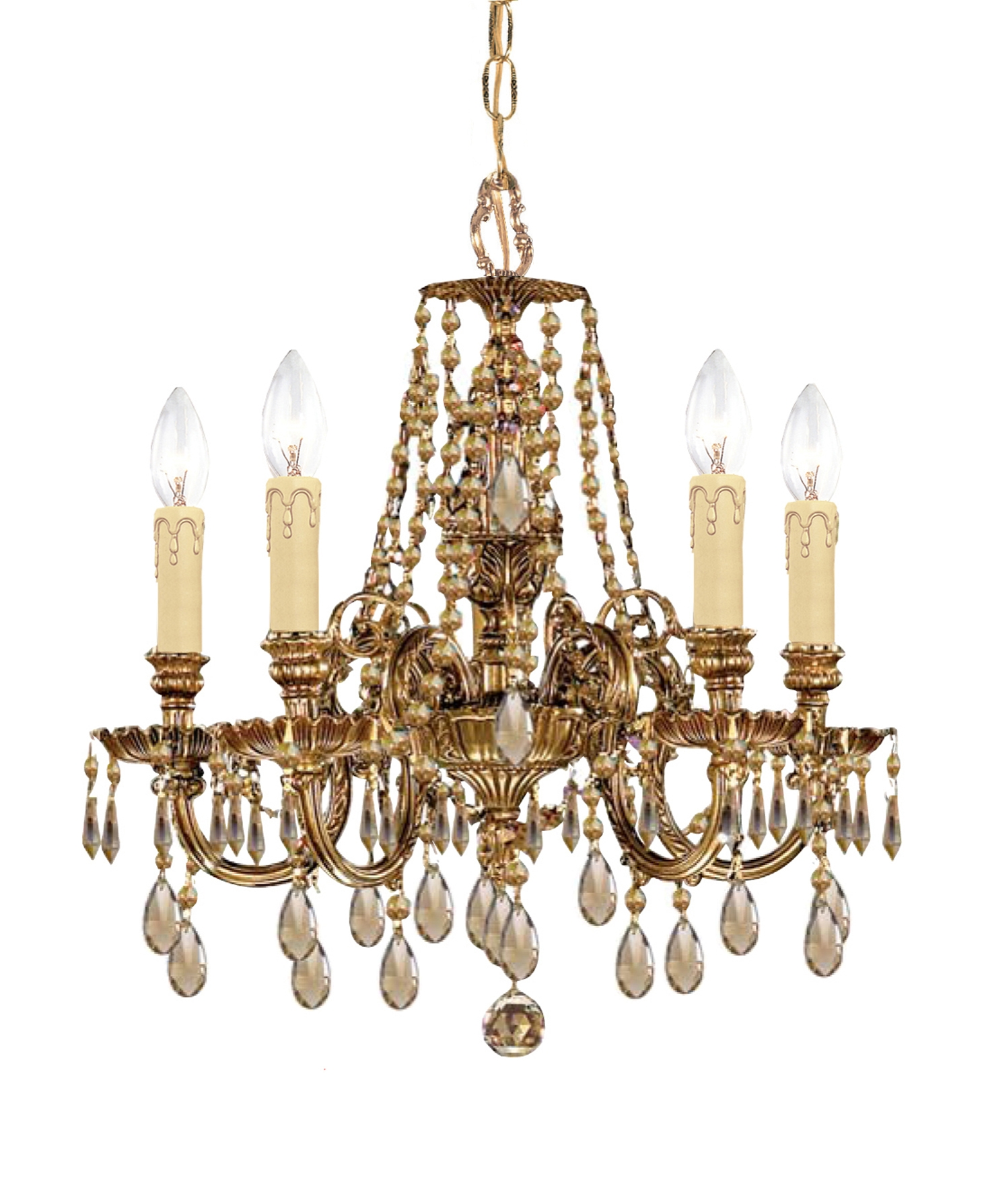 Crystorama 2805 Ob Gt Mwp Mini Chandeliers Novella With Regard To Ornate Chandeliers (Image 6 of 15)