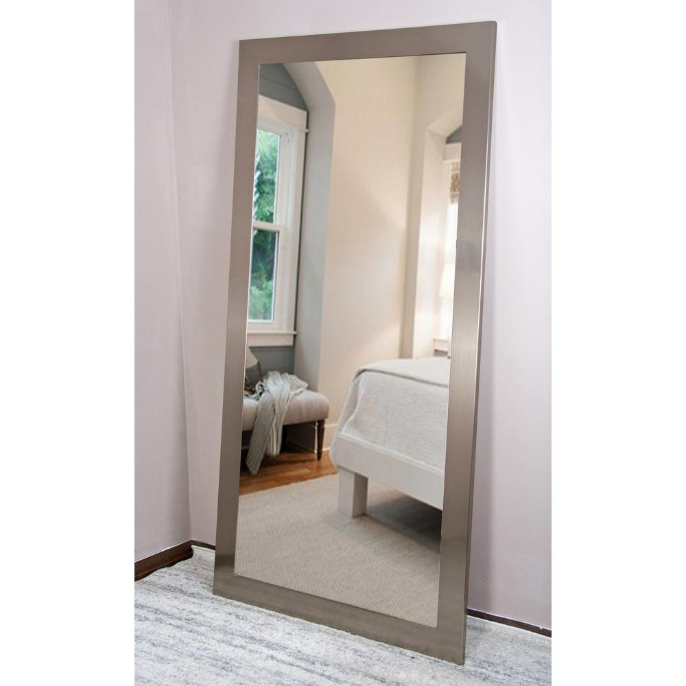 Current Trend Tall Silver Solitaire Dressing Mirror Av1tall The Within Tall Dressing Mirror (Image 4 of 15)
