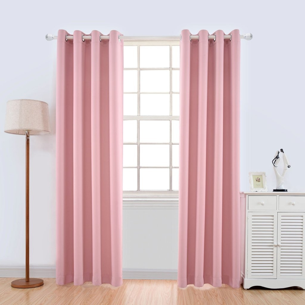 Curtain Astonishing Thermal Curtains Amazon Thermal Curtains For With White Thermal Curtains (Image 5 of 15)