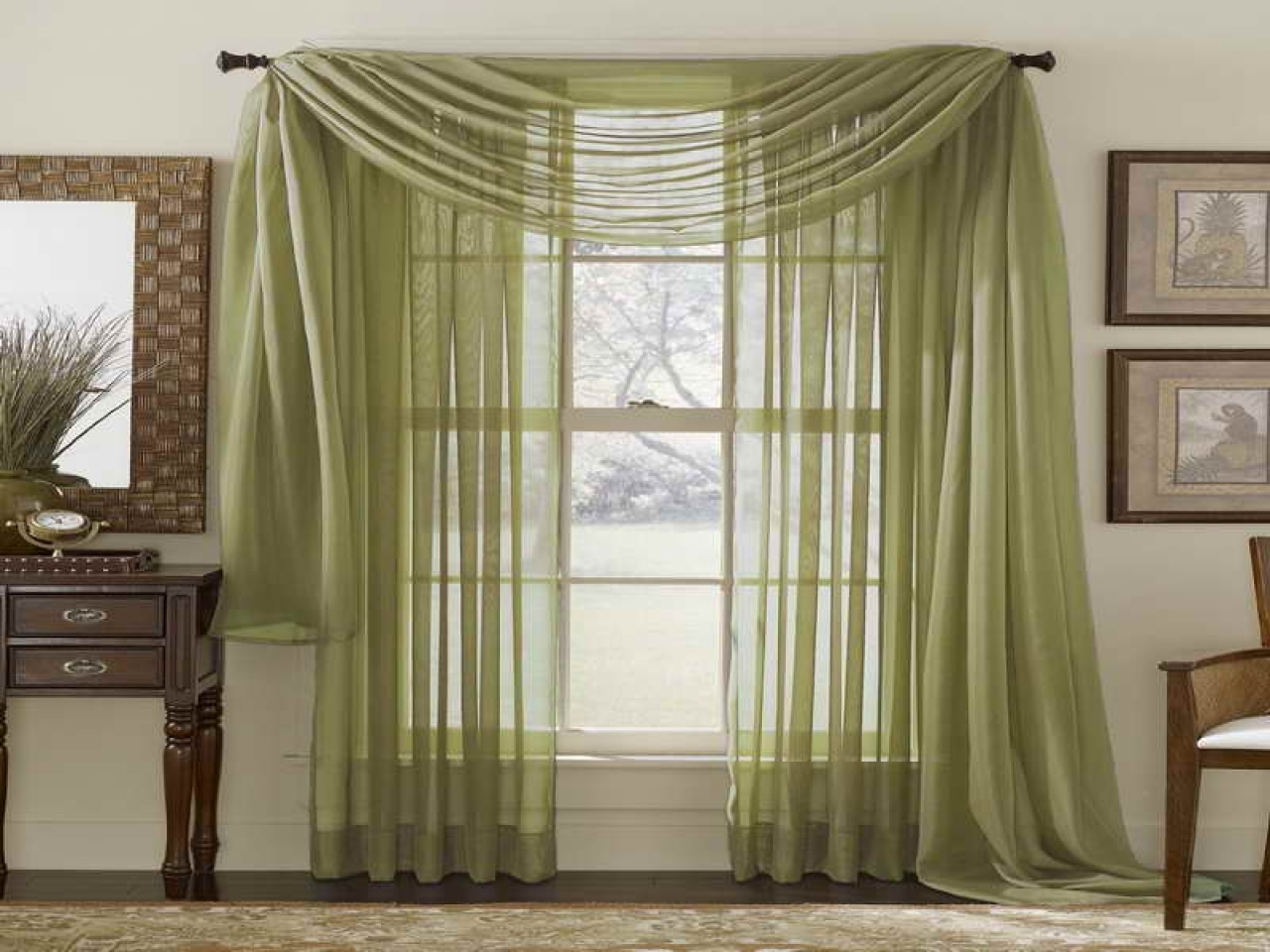 Curtain Astounding Curtains For Long Windows Long Window Shades For Extra Wide And Long Curtains (Image 4 of 15)