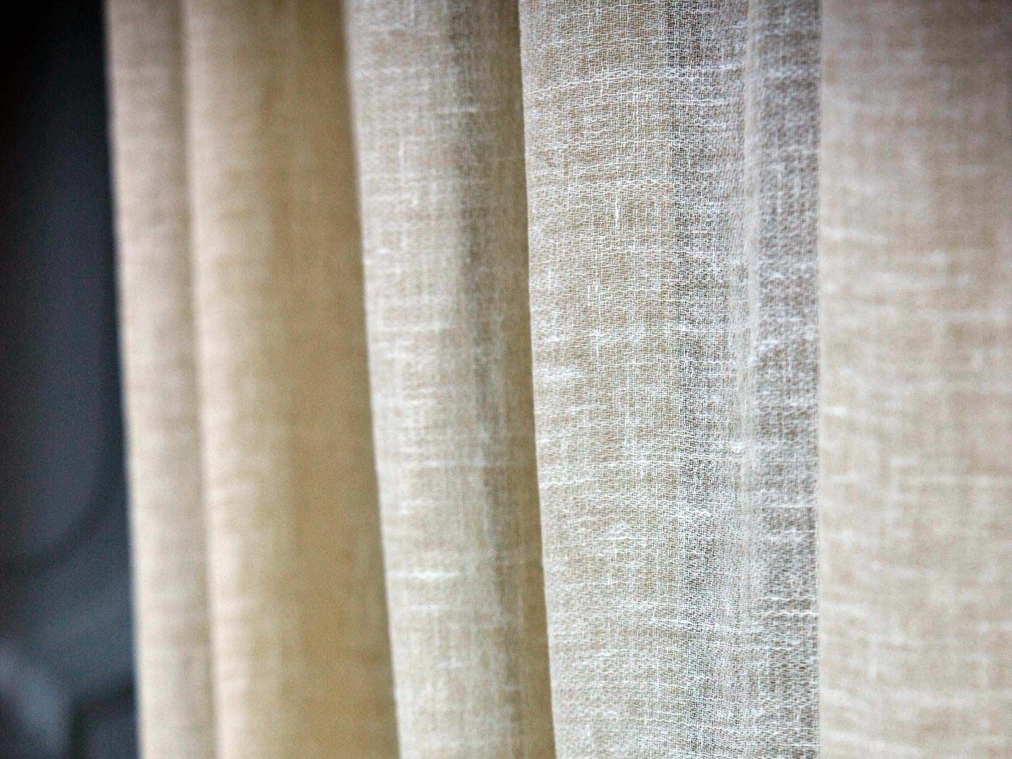 Curtain Fabric Plain Linen Light Linolana Mastro Raphal For Curtain Linen Fabric (Image 5 of 15)