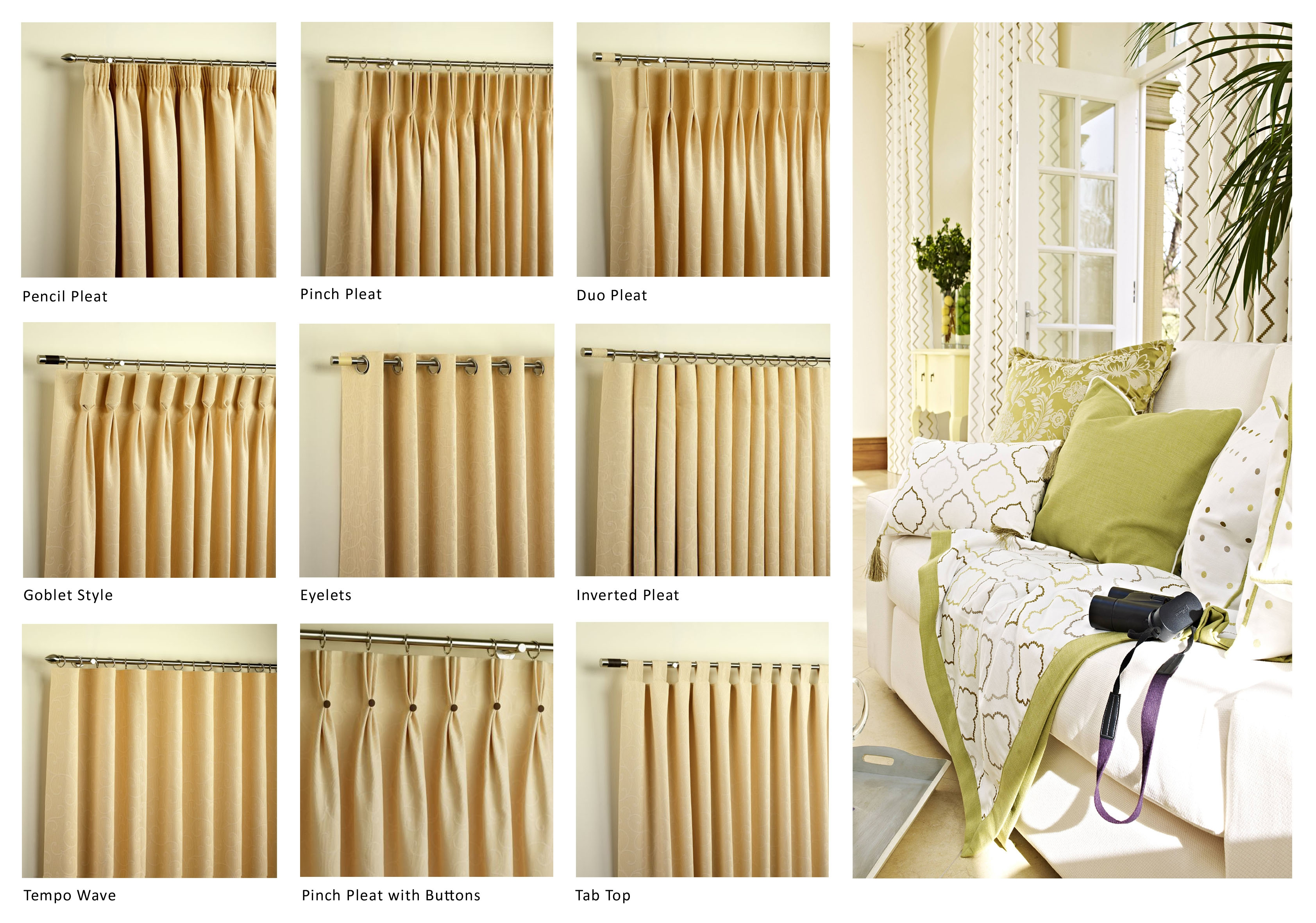 Featured Image of Curtain Headings