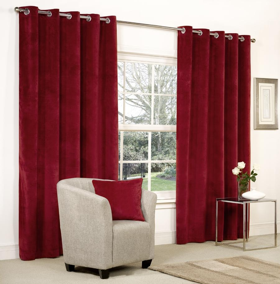 Curtains 2014 Pertaining To Velvet Door Curtain (Image 2 of 15)
